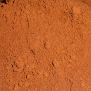 umbra crvenkasta pigment