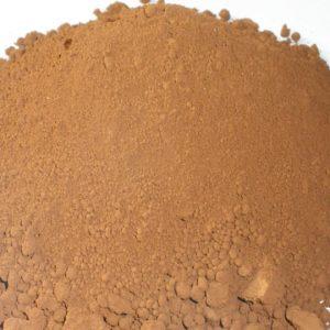 Umbra paljena pigment